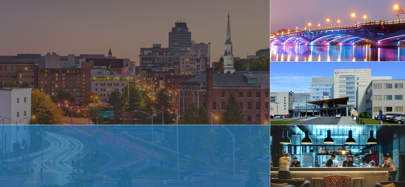 city skylines and landmarks surrounding our Worcester, MA insurance agency